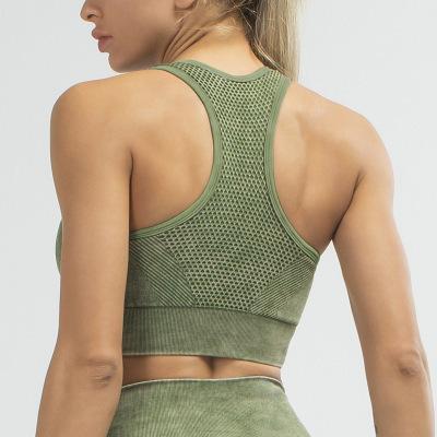 Sports running gather bra sexy beauty back stereotype yoga fitness vest NSLUT59794